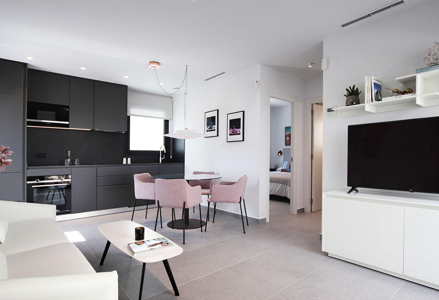 immobilier neuf espagne costa blanca on-3b essence penthouse salon 2