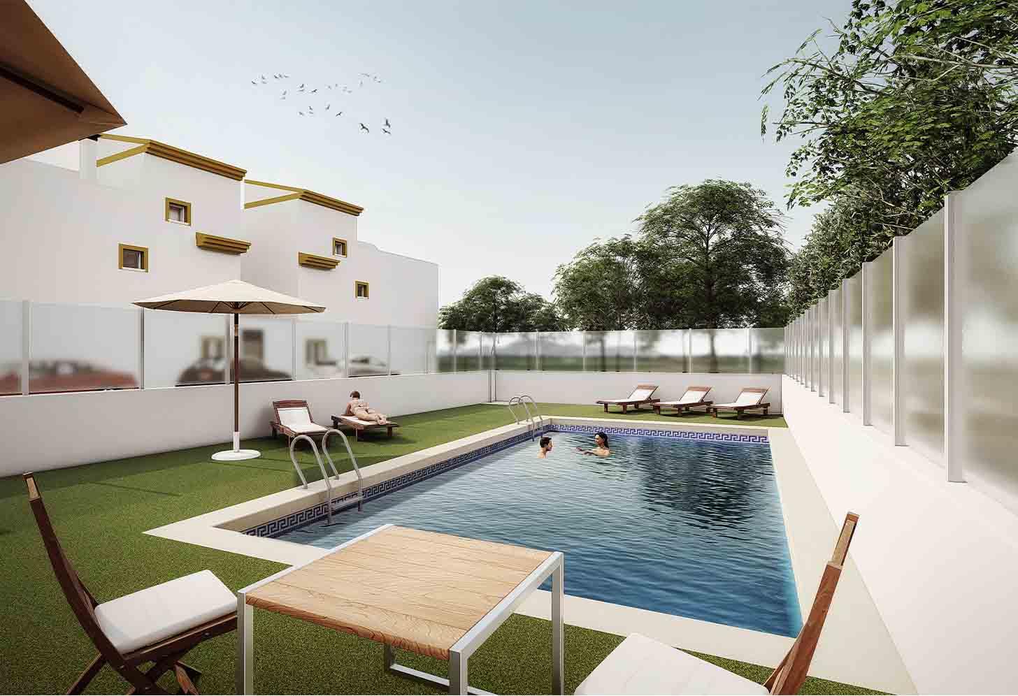 immobilier neuf espagne costa blanca on-d12 santa rosalia village piscine