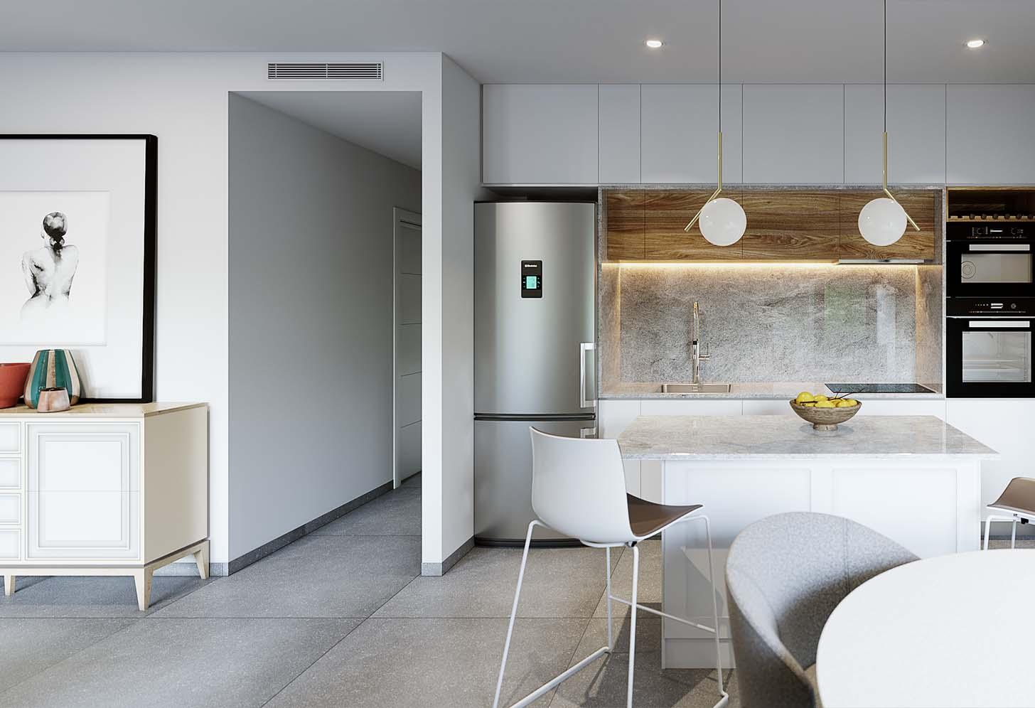 immobilier neuf espagne costa blanca on-d15 palmeral roda golf cuisine