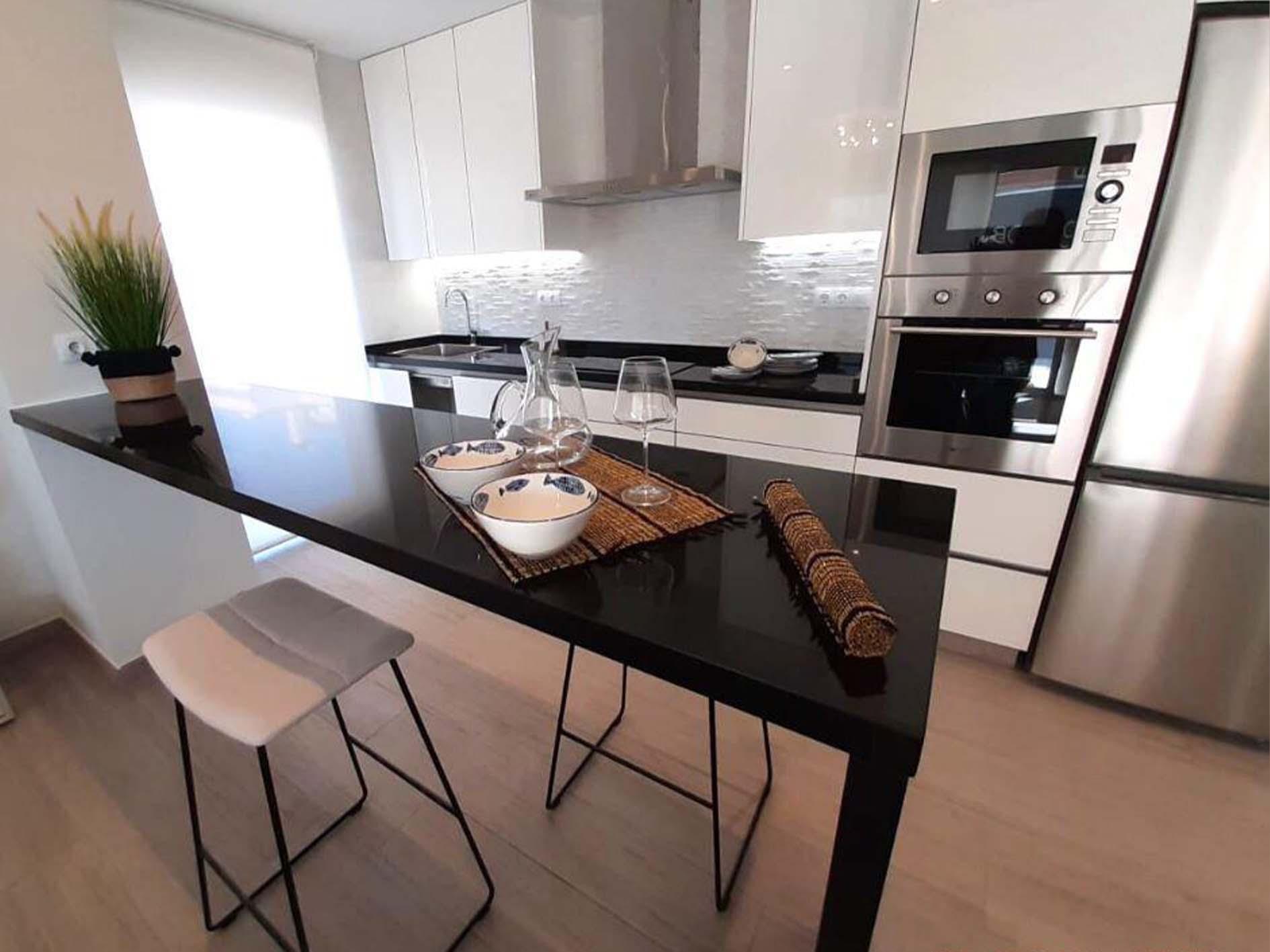 immobilier neuf espagne costa blanca on-g3 orihuela costa cuisine