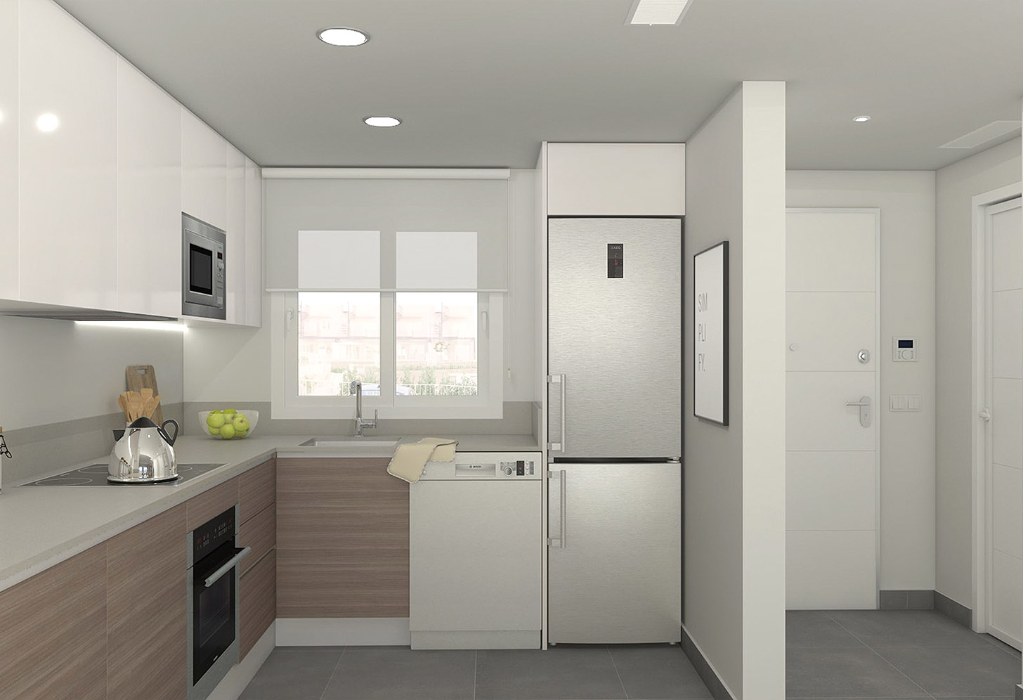 immobilier neuf espagne costa blanca on-j2 kiruna hills cuisine