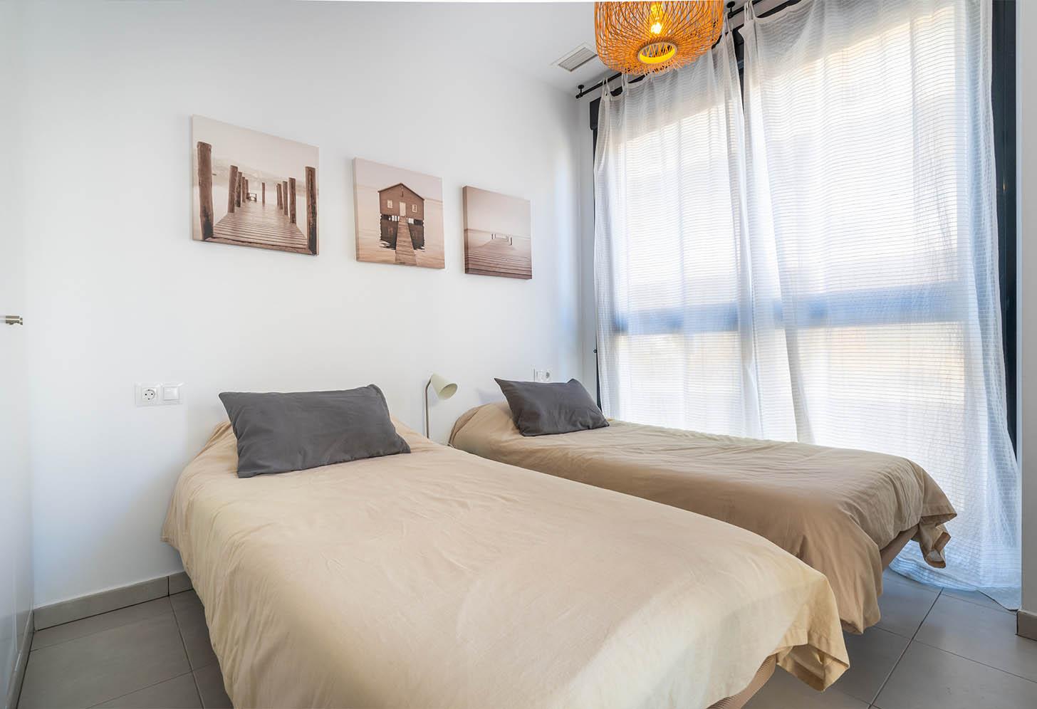 immobilier neuf espagne costa blanca on-m1 calpe beach II chambre 1