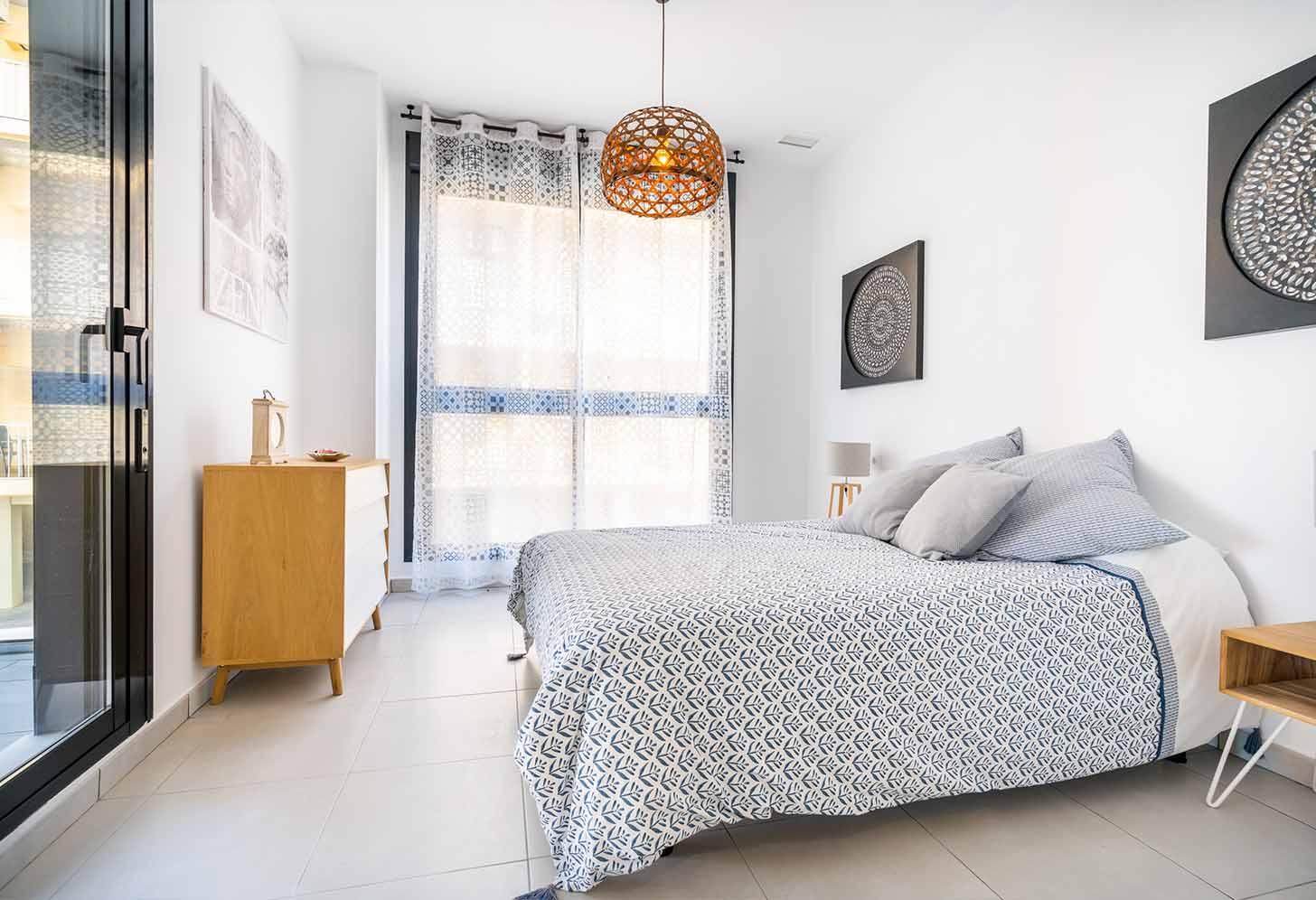immobilier neuf espagne costa blanca on-m1 calpe beach II chambre 2