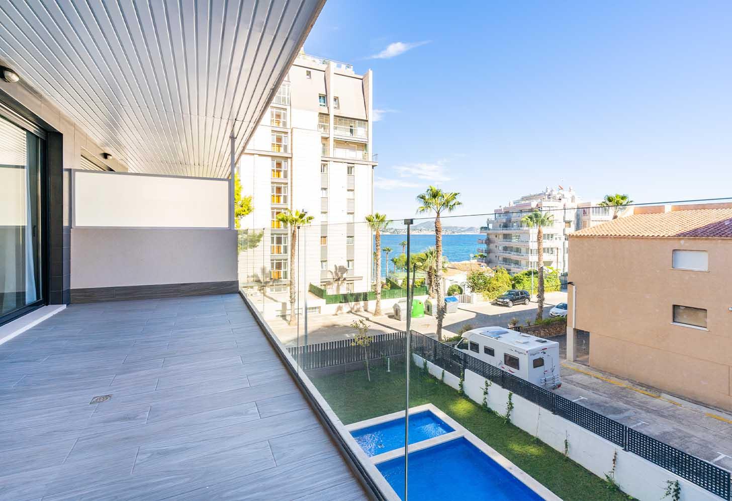immobilier neuf espagne costa blanca on-m1 calpe beach II terrasse 2