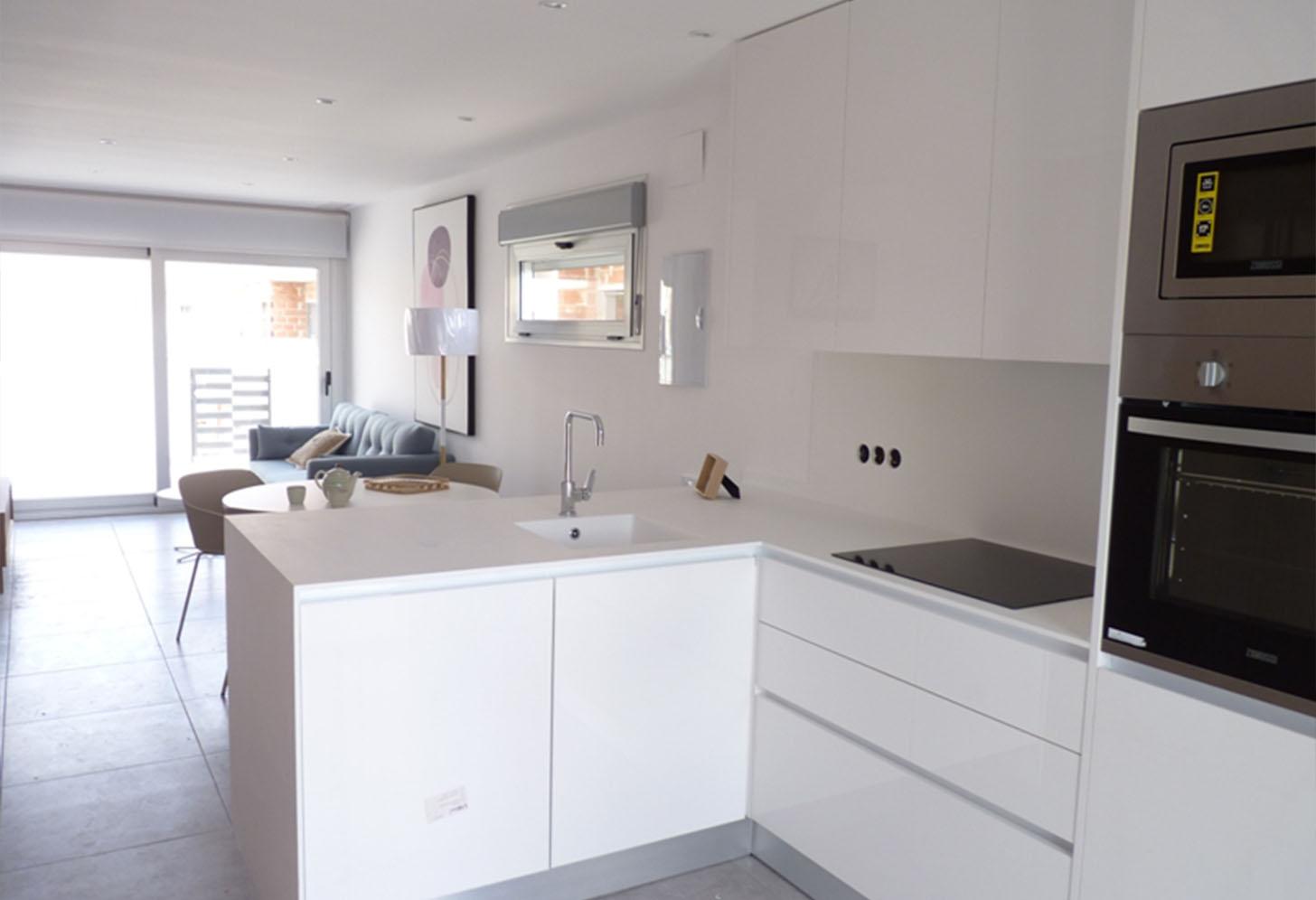 immobilier neuf espagne costa blanca on-n1 azucena del mar cuisine
