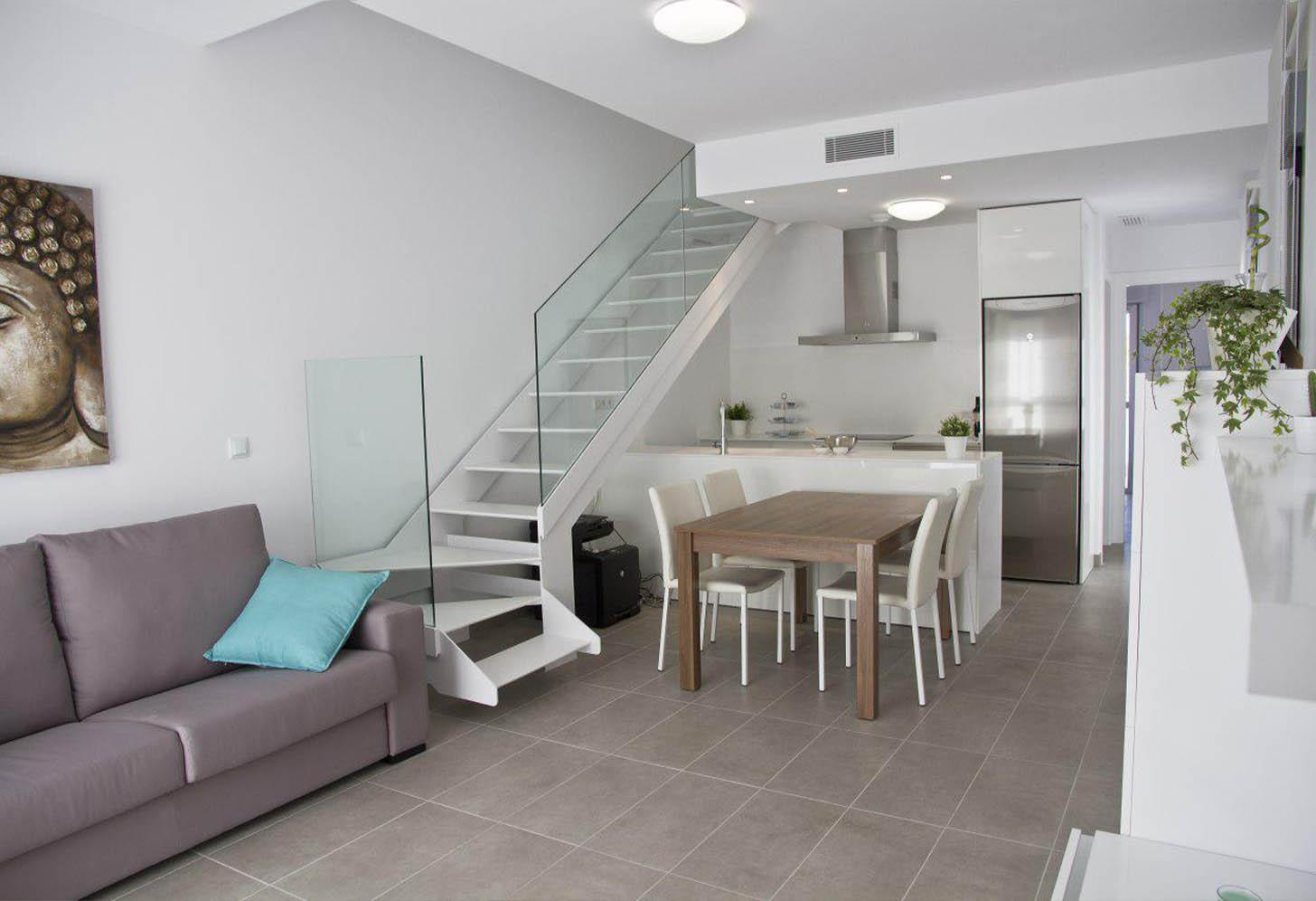 immobilier neuf espagne costa blanca on-n3 duplex higuerigas salon