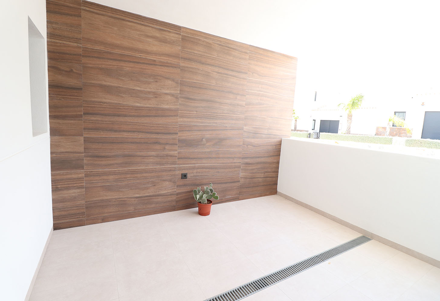 Deuxième terrasse de l'appartement à Campoamor