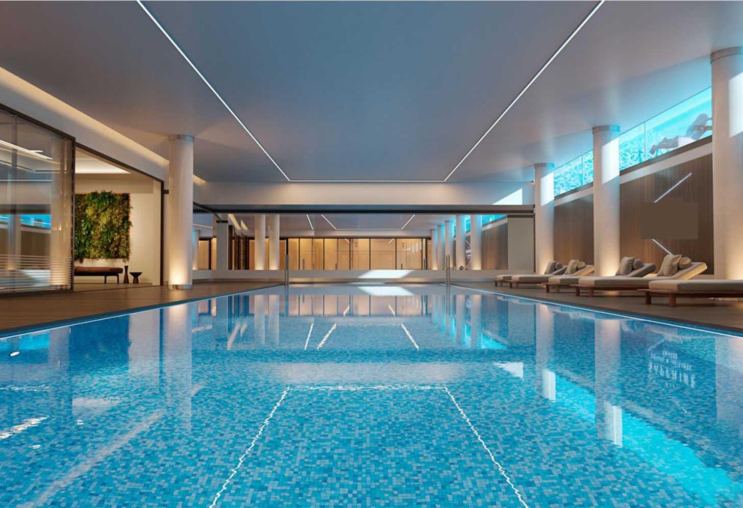 immobilier neuf espagne costa del sol on-e10 the sapphire piscine