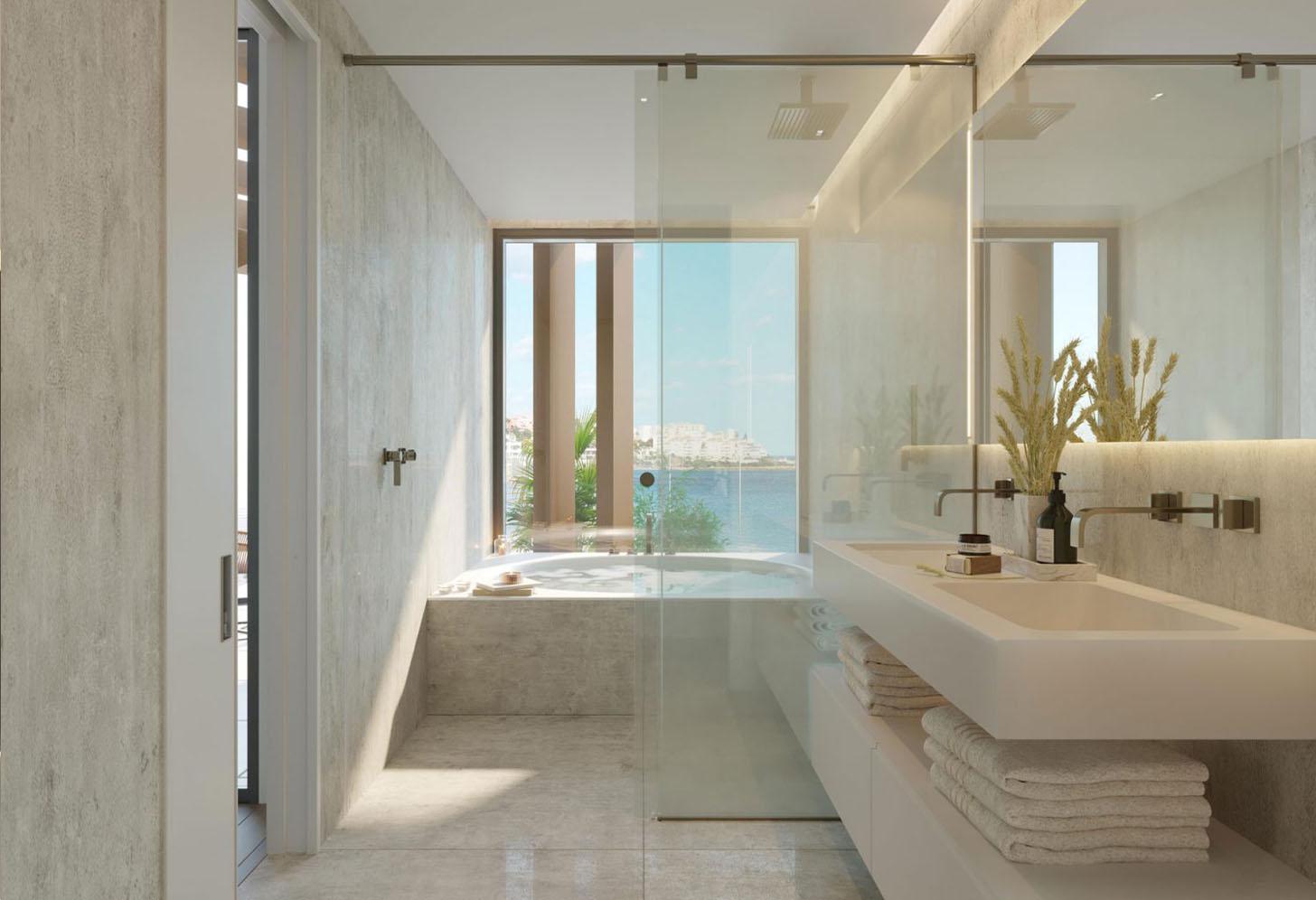 immobilier neuf espagne costa del sol on-e10 the sapphire salle de bain
