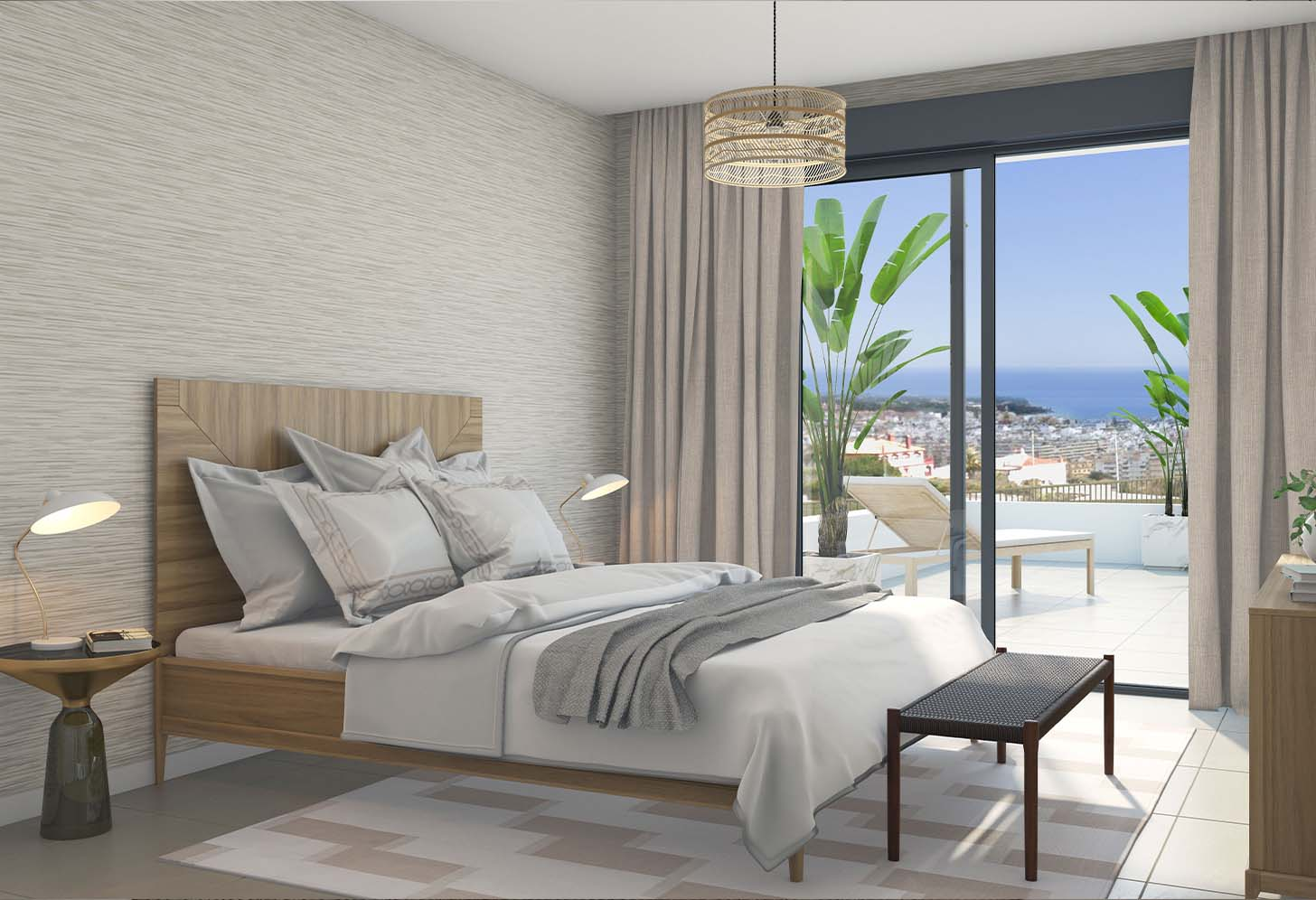 immobilier neuf espagne costa del sol on-e11 Mesas Homes chambre 2