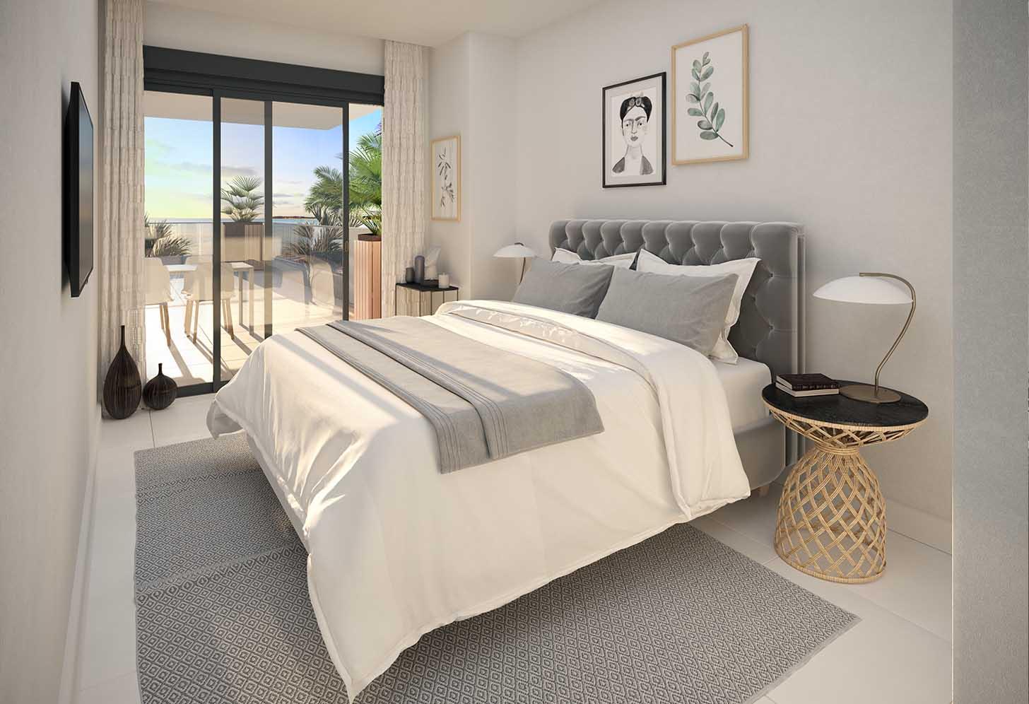 immobilier neuf espagne costa del sol on-e11 Mesas Homes chambre 3