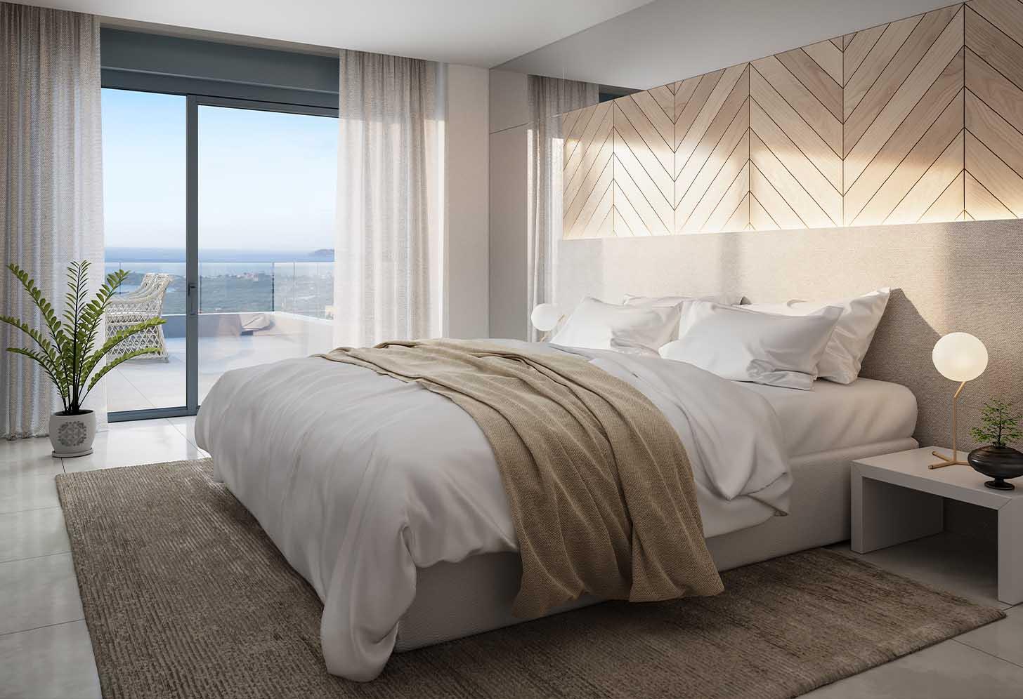 immobilier neuf espagne costa del sol on-e11 Mesas Homes chambre