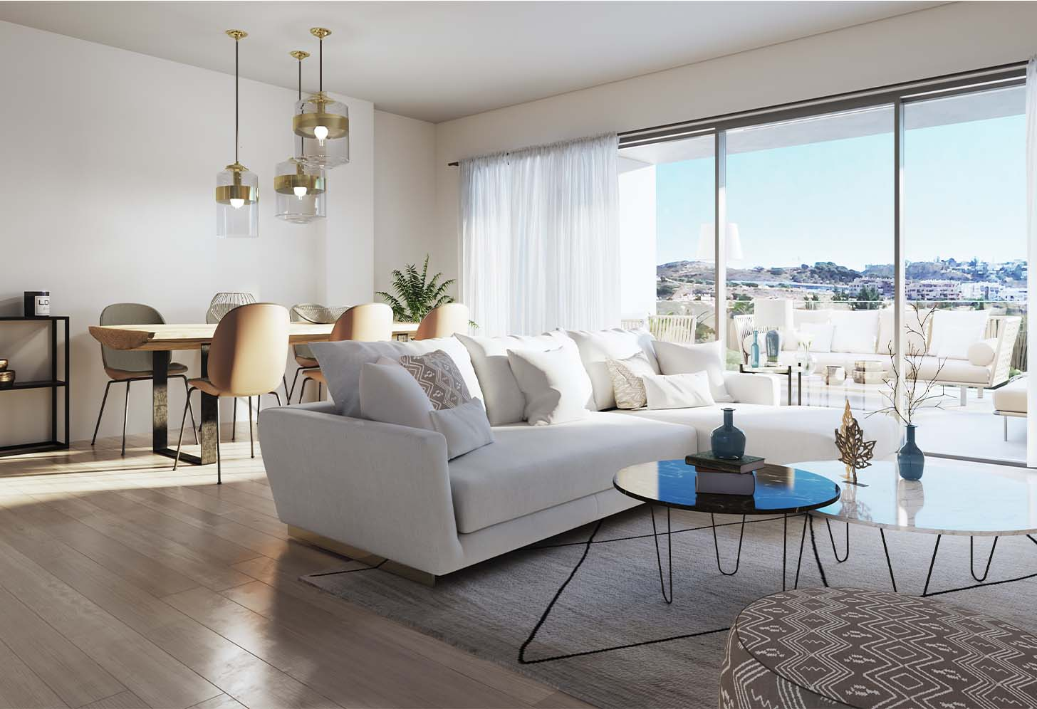 immobilier neuf espagne costa del sol on-e12 Navigolf salon