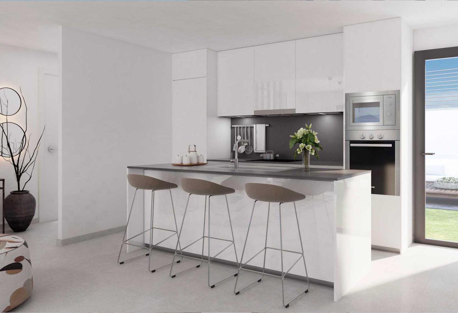 immobilier neuf espagne costa del sol on-e13 Alborada Homes cuisine