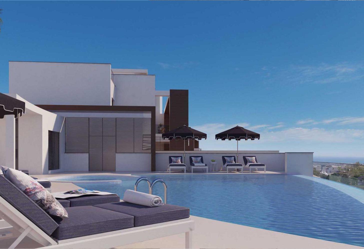 immobilier neuf espagne costa del sol on-e13 Alborada Homes piscine