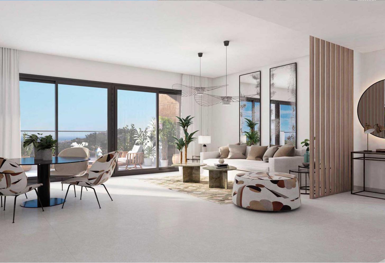 immobilier neuf espagne costa del sol on-e13 Alborada Homes salon