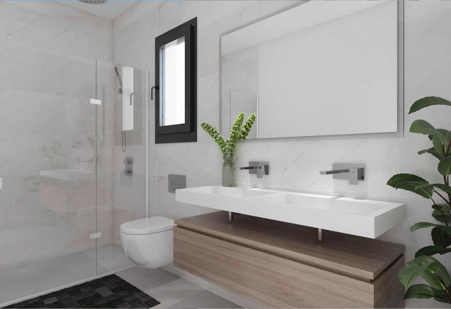 immobilier neuf espagne costa del sol on-e13 Alborada Homes salle de bain