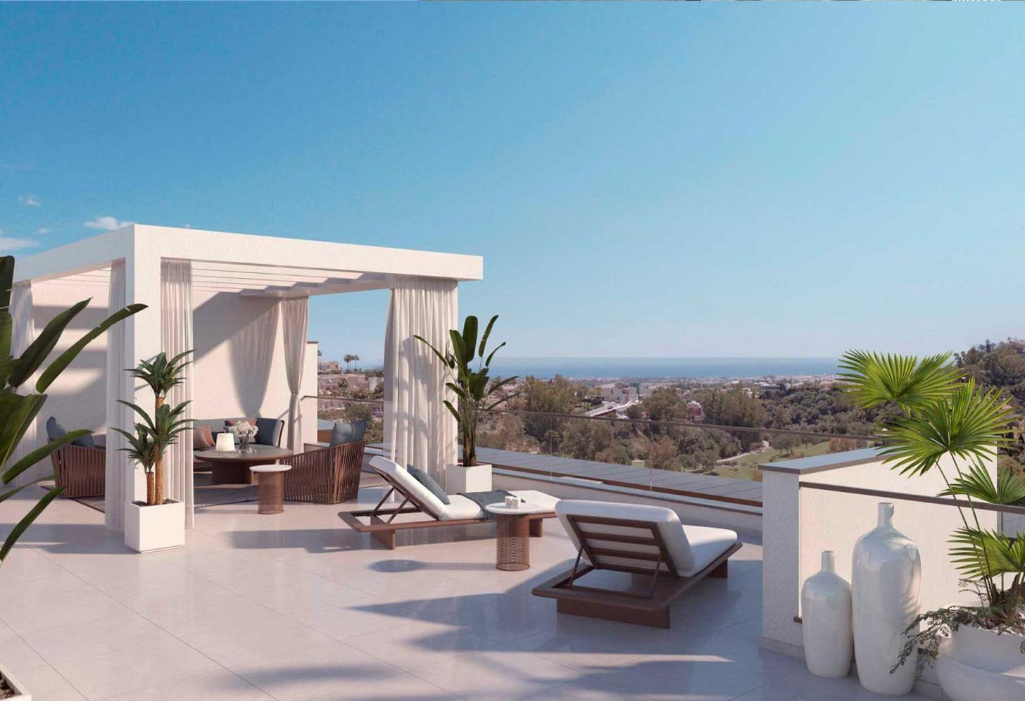 immobilier neuf espagne costa del sol on-e13 Alborada Homes terrasse