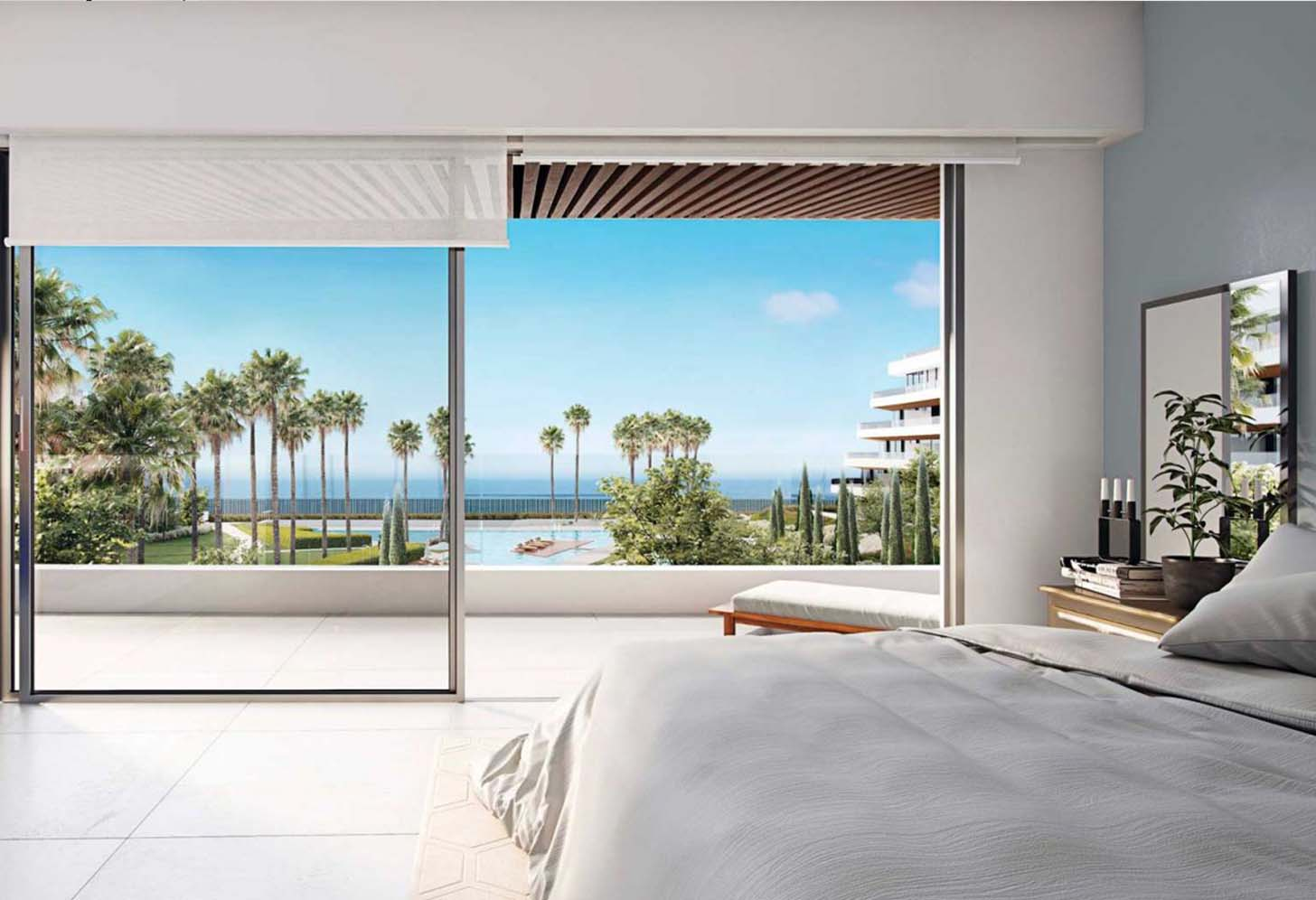 immobilier neuf espagne costa del sol on-e14 nereidas residential chambre