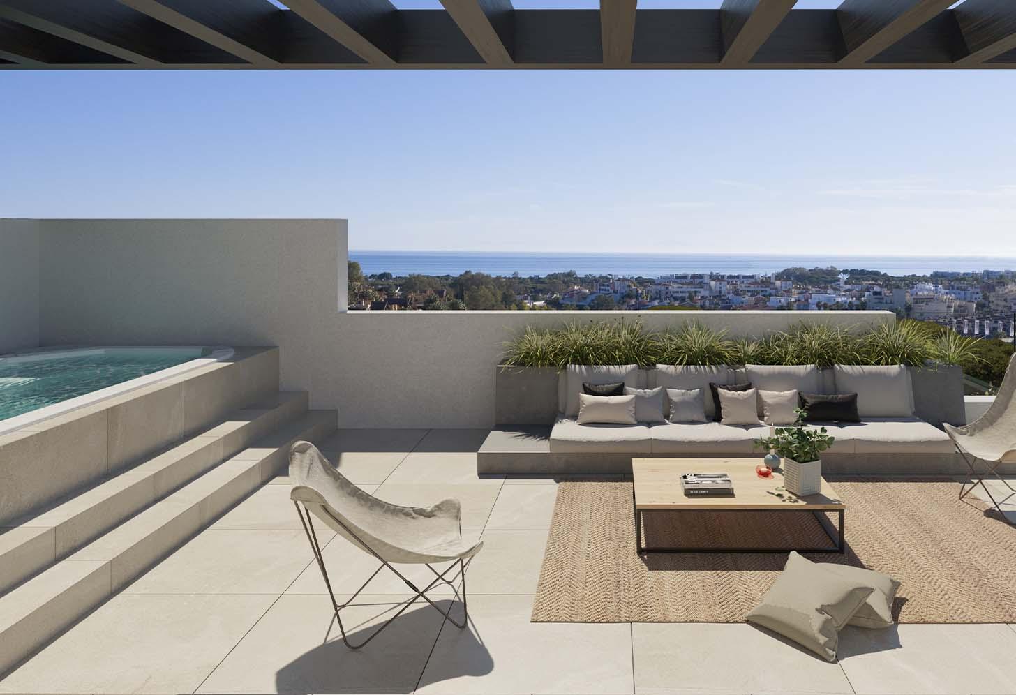 immobilier neuf espagne costa del sol on-e15 serene atalaya terrasse