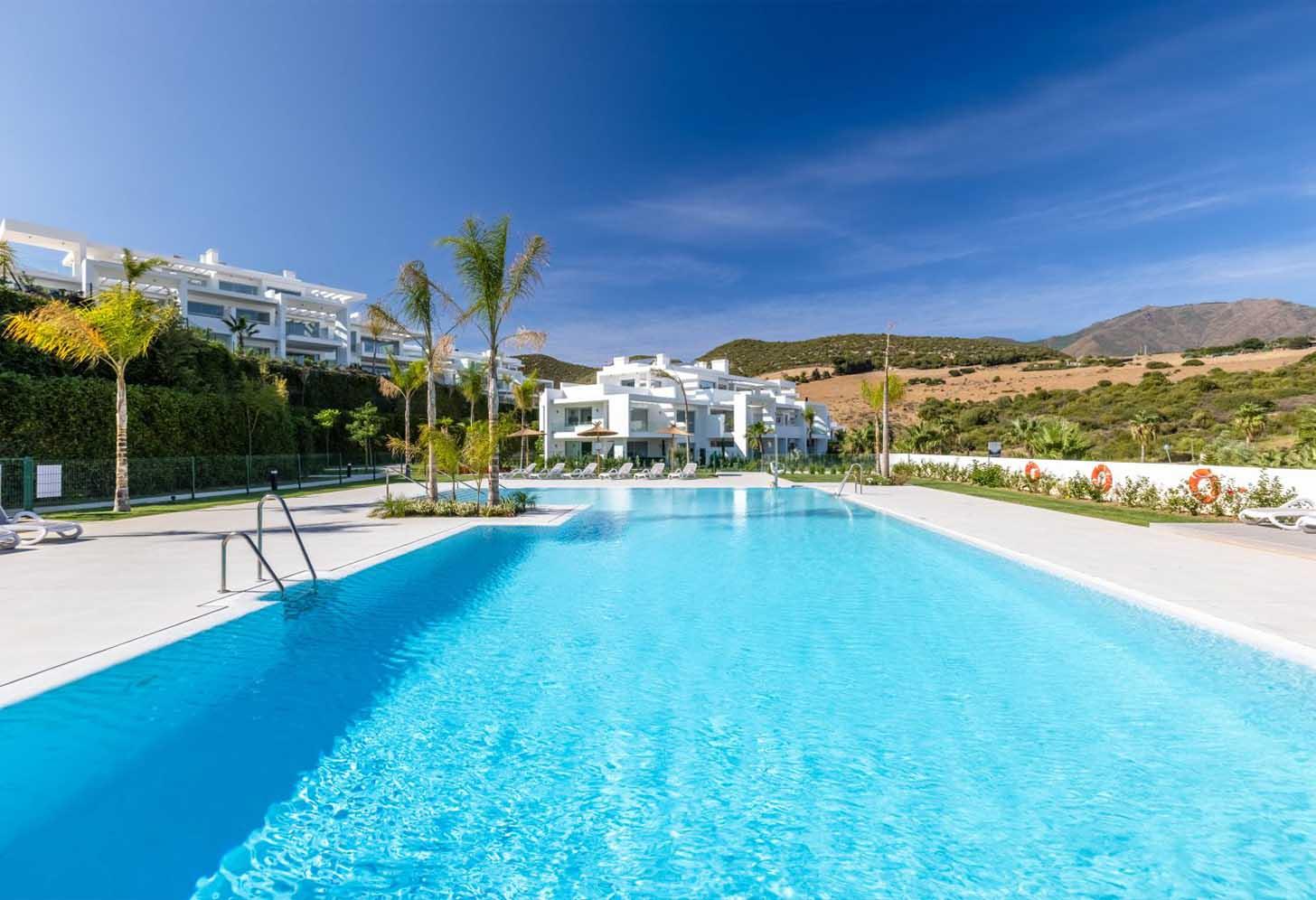 immobilier neuf espagne costa del sol on-e6 alcazaba lagoon piscine