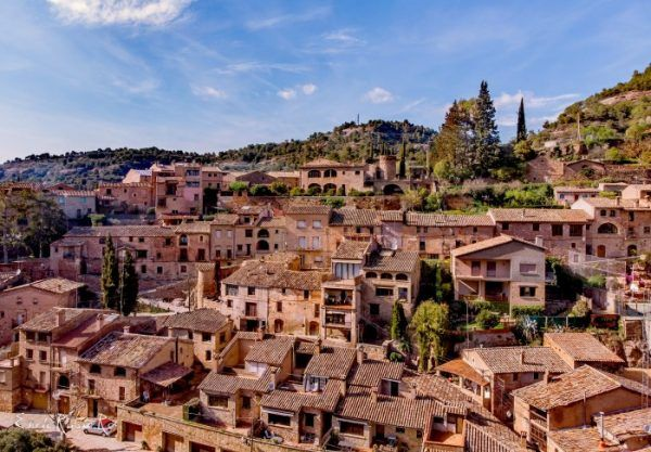 Village proche de Barcelone