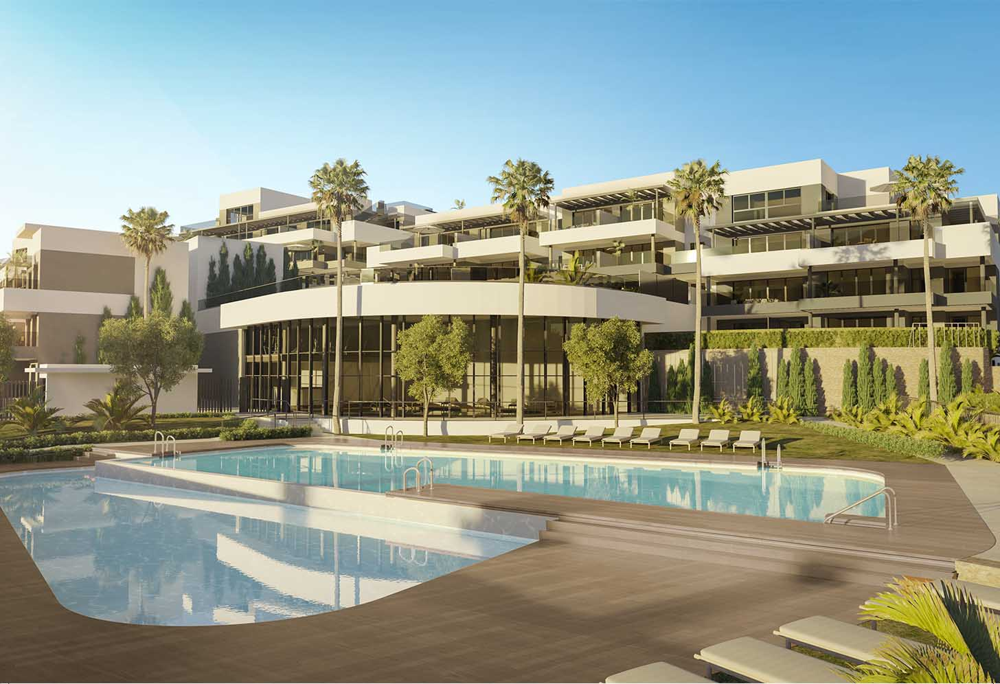 immobilier neuf espagne costa del sol on-e11 Mesas Homes exterieur
