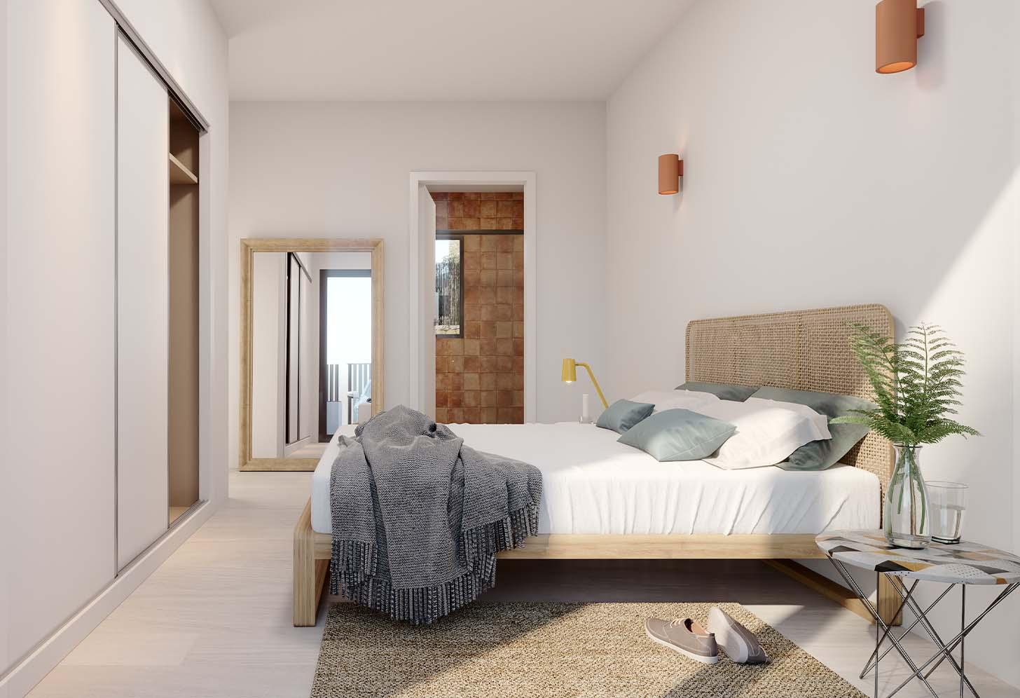 immobilier neuf espagne costa blanca on-o2 balcon finestrat chambre