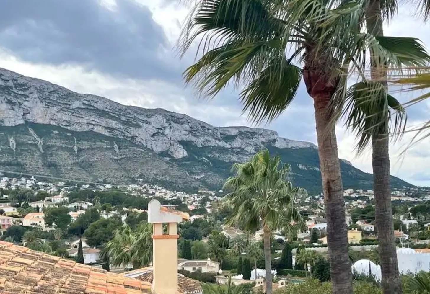 immobilier acheter une maison à dénia 005 vue montagnes