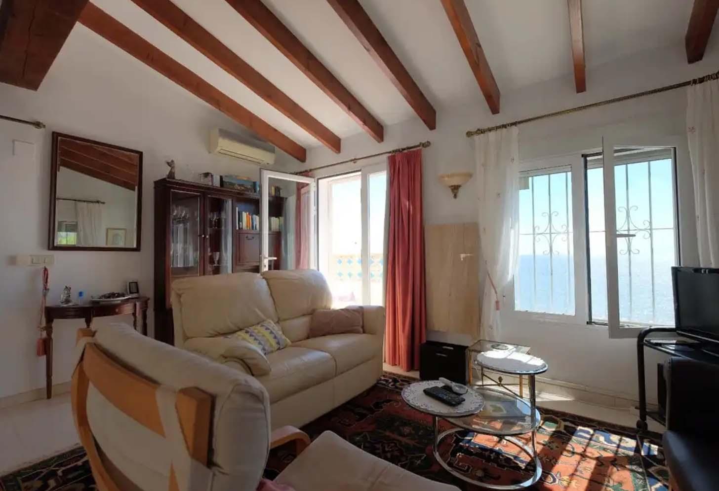 immobilier acheter une maison à calpe 010 d1 salon