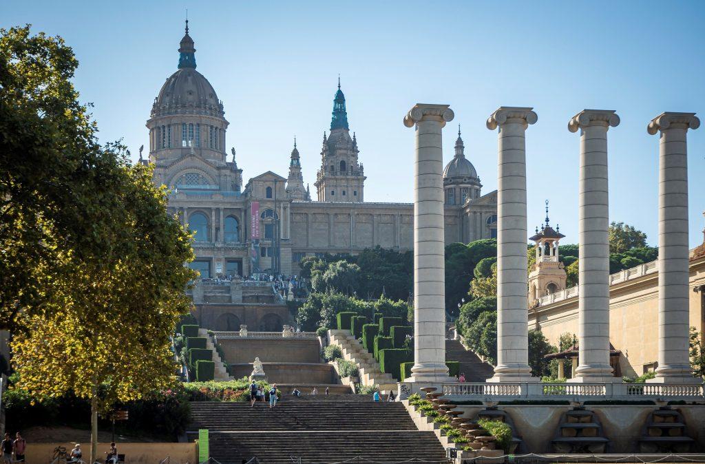 Musée national d'art de Catalogne architecture Barcelone